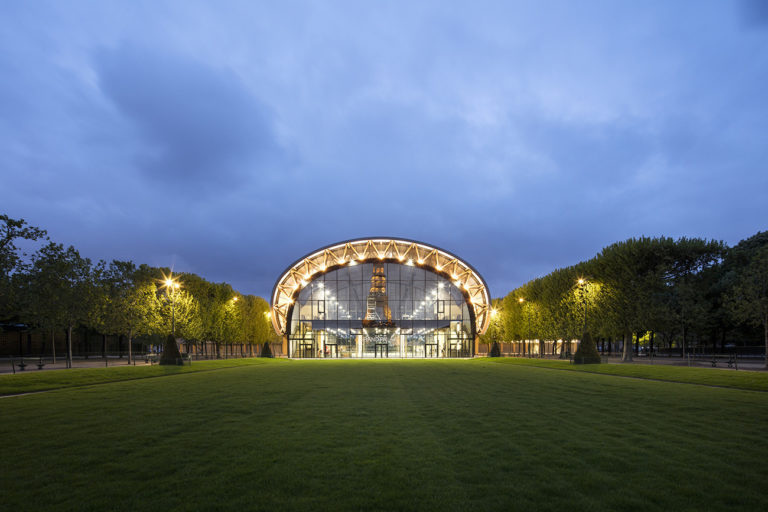 The Grand Palais Éphémère by Patrick Tourneboeuf