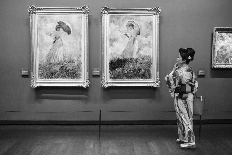 Photofestival Saint Brieuc 2021 : Gérard Uféras : A day at the museum
