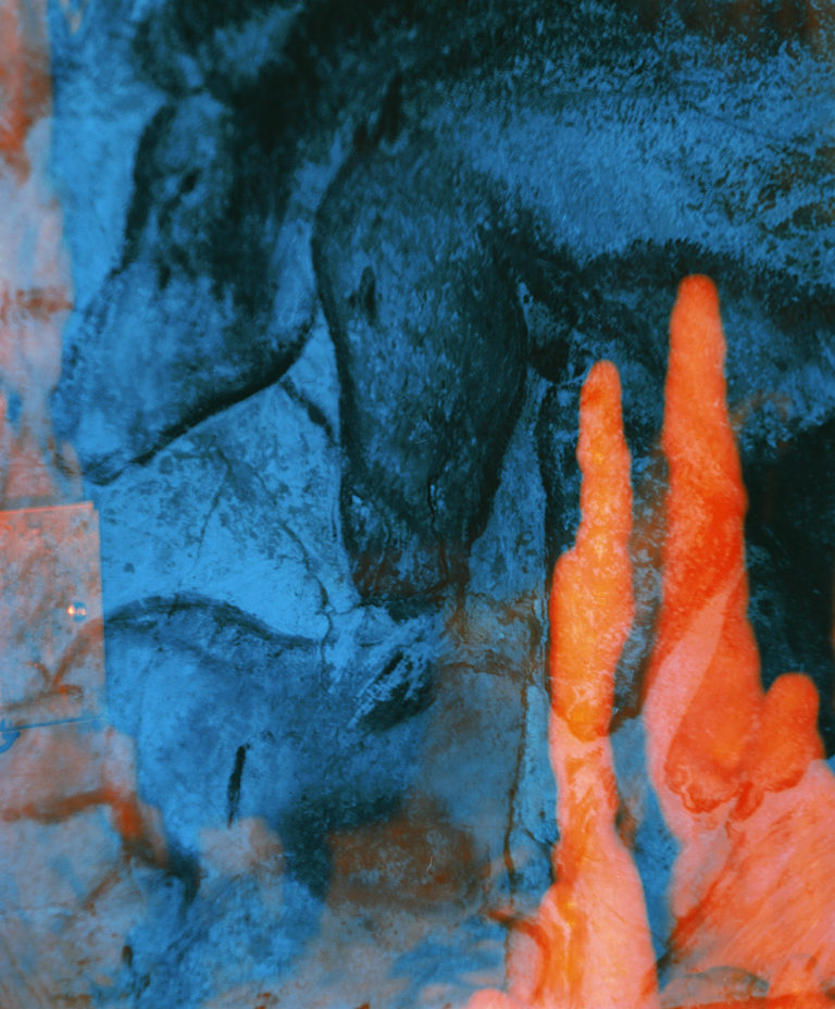 Philippe Durand, totemic eye in the Chauvet cave