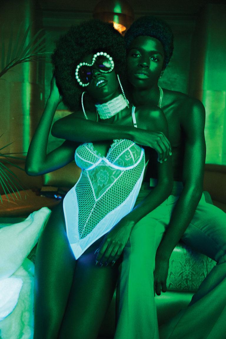 A. galerie : The Green Light